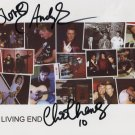 "The Living End (Band) FULLY SIGNED 8"" x 10"" Photo COA 100% Genuine"