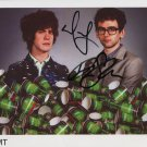 "MGMT FULLY SIGNED 8"" x 10"" Photo + Certificate Of Authentication  100% Genuine"