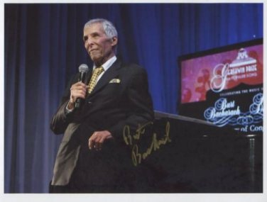Burt Bacharach SIGNED Photo + Certificate Of Authentication 100% Genuine