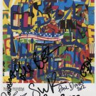Happy Mondays FULLY SIGNED Photo + Certificate Of Authentication 100% Genuine