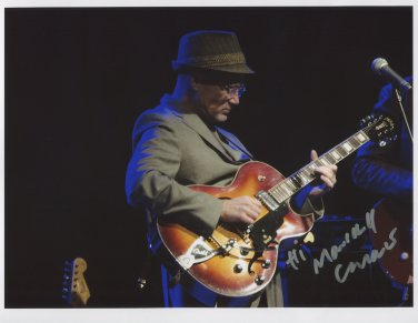 """Marshall Crenshaw SIGNED 8"""" x 10"""" Photo + Certificate Of Authentication  100% Genuine"""