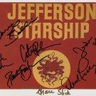 Jefferson Starship Paul Kantner Grace Slick SIGNED Photo  Certificate Of Authentication  100% Gen.