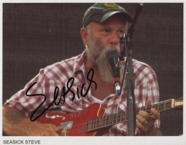 """Seasick Steve SIGNED 8"""" x 10"""" Photo + Certificate Of Authentication  100% Genuine"""
