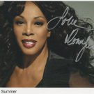 "Donna Summer SIGNED 8"" x 10"" Photo + Certificate Of Authentication 100% Genuine"
