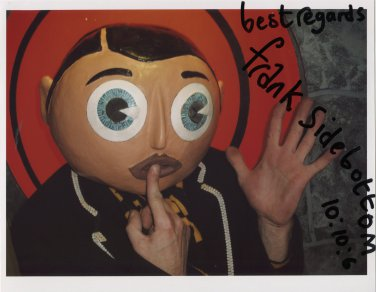 """Frank Sidebottom SIGNED 8"""" x 10"""" Photo + Certificate Of Authentication 100% Genuine"""