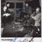 Television Tom Verlaine FULLY SIGNED Photo + Certificate Of Authentication 100% Genuine