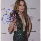 """Lindsay Lohan SIGNED 8"""" x 10"""" Photo + Certificate Of Authentication 100% Genuine"""