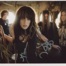 Halestorm (Band) Lzzy Halestorm FULLY SIGNED Photo + Certificate Of Authentication  100% Genuine