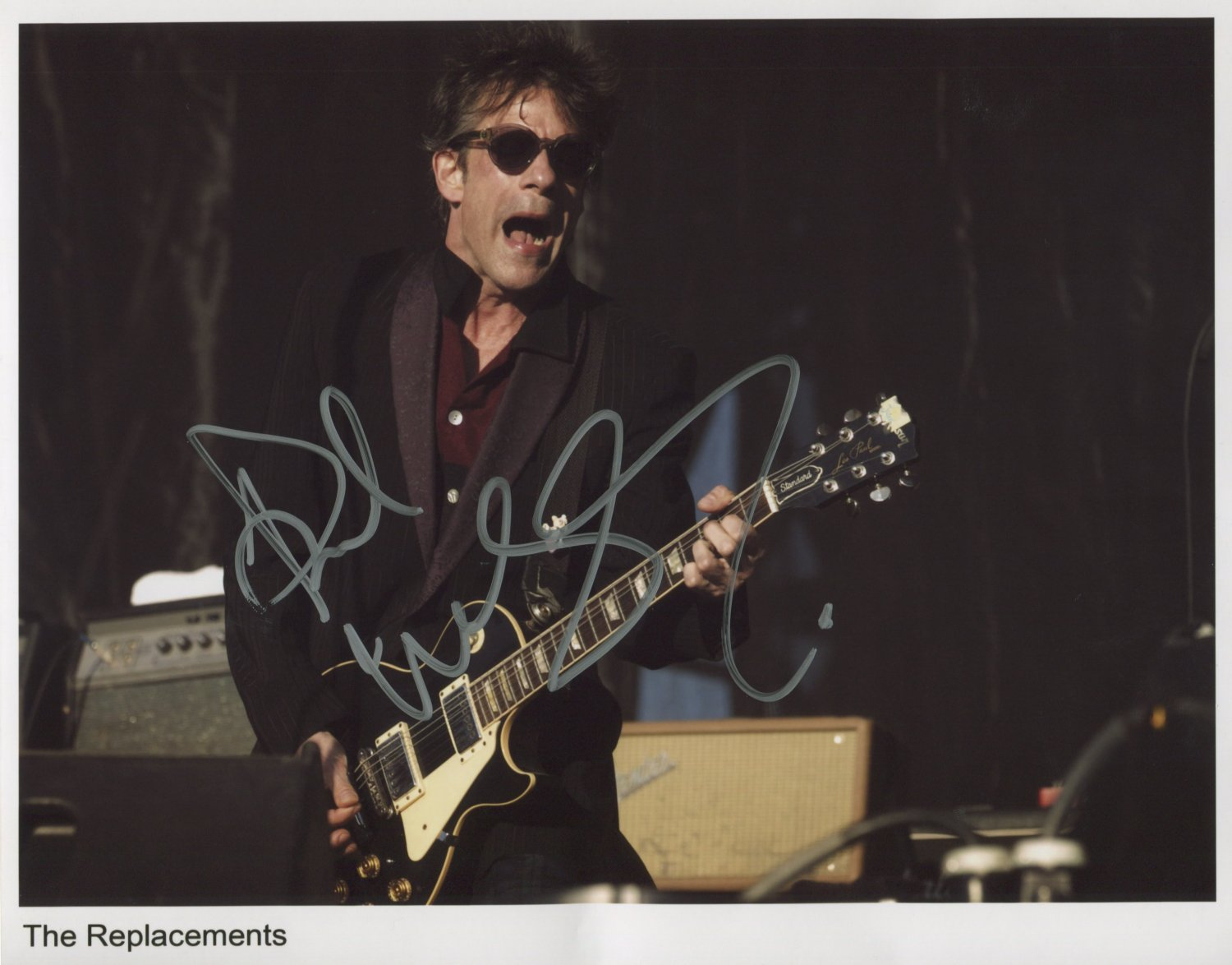 """Paul Westerberg The Replacements SIGNED 8"""" x 10"""" Photo + Certificate Of Authentication 100% Genuine"""