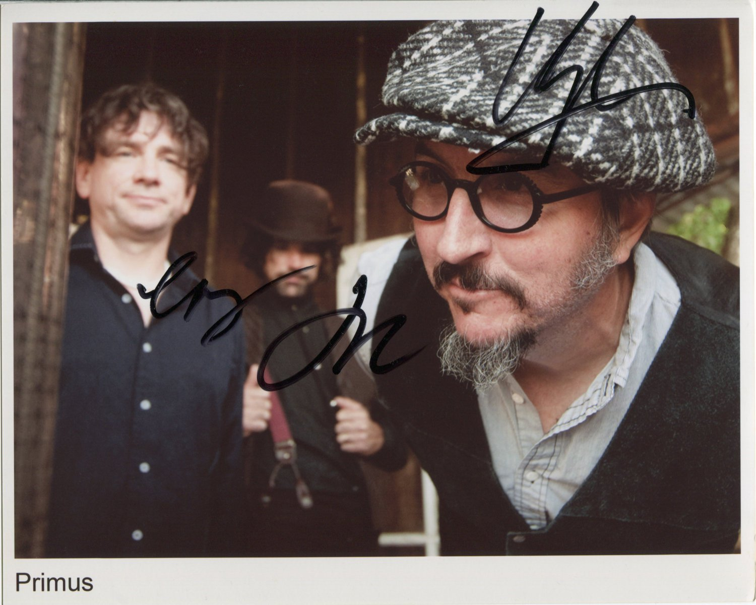 Primus FULLY SIGNED Photo + Certificate Of Authentication 100% Genuine