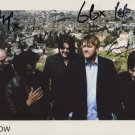 "Elbow (Band) Guy Garvey FULLY SIGNED 8"" x 10"" Photo + Certificate Of Authentication  100% Genuine"
