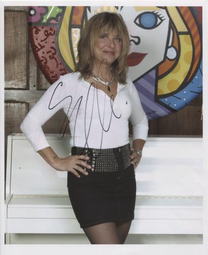 """Suzi Quatro SIGNED 8"""" x 10"""" Photo + Certificate Of Authentication 100% Genuine"""