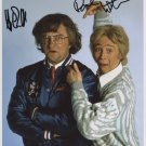 Harry Enfield & Paul Whitehouse SIGNED Photo + Certificate Of Authentication  100% Genuine