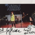 The Rezillos (U.K. Punk Band) SIGNED Photo + Certificate Of Authentication  100% Genuine
