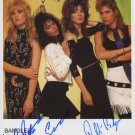 "The Bangles FULLY SIGNED 8"" x 10"" Photo + Certificate Of Authentication  100% Genuine"
