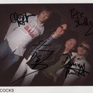 "Buzzcocks (UK Punk Band) FULLY SIGNED 8"" x 10"" Photo + Certificate Of Authentication 100% Genuine"