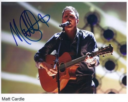 "Matt Cardle SIGNED 8"" x 10"" Photo + Certificate Of Authentication  100% Genuine"