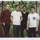 Bombay Bicycle Club FULLY SIGNED Photo + Certificate Of Authentication 100% Genuine