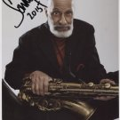 "Sonny Rollins SIGNED 8"" x 10"" Photo + Certificate Of Authentication 100% Genuine"