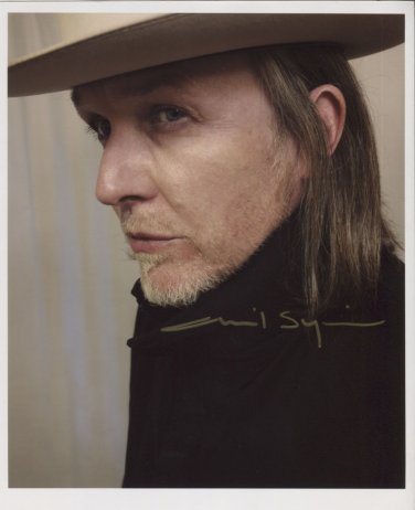 "David Sylvian SIGNED 8"" x 10"" Photo + Certificate Of Authentication 100% Genuine"