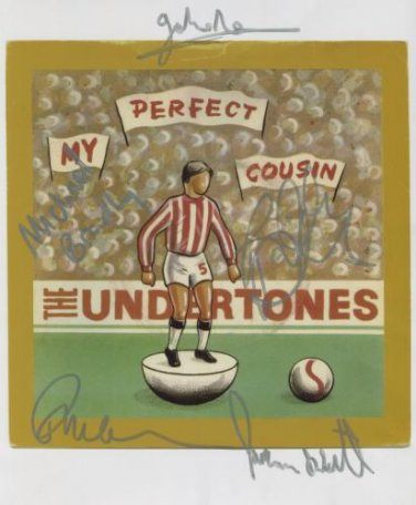The Undertones (Band) FULLY SIGNED Photo + Certificate Of Authentication 100% Genuine