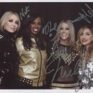 All Saints (Girl Band) Appleton FULLY SIGNED Photo + Certificate Of Authentication 100% Genuine