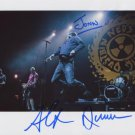Neds Atomic Dustbin SIGNED  Photo + Certificate Of Authentication  100% Genuine