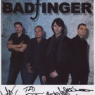 Badfinger (Band) SIGNED Photo + Certificate Of Authentication 100% Genuine