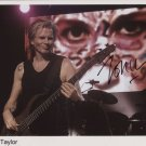 "John Taylor Duran Duran SIGNED 8"" x 10"" Photo + Certificate Of Authentication  100% Genuine"