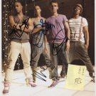 "JLS (Boy Band) FULLY SIGNED 8"" x 10"" Photo + Certificate Of Authentication 100% Genuine"