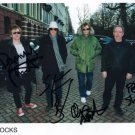 """Buzzcocks (UK Punk Band) FULLY SIGNED 8"""" x 10"""" Photo + Certificate Of Authentication 100% Genuine"""
