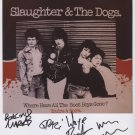 "Slaughter & The Dogs (Band) SIGNED 8"" x 10"" Photo + Certificate Of Authentication  100% Genuine"