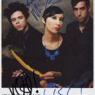 "Yeah Yeah Yeahs (Band) SIGNED 8"" x 10"" Photo + Certificate Of Authentication 100% Genuine"
