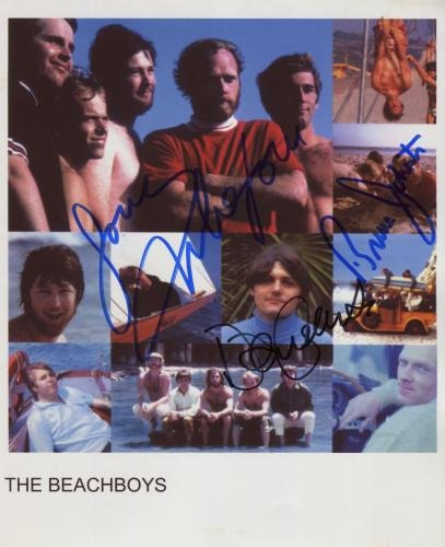 """The Beach Boys (Band) SIGNED 8"""" x 10"""" Photo + Certificate Of Authentication 100% Genuine"""