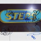"Steps (Band) FULLY SIGNED 8"" x 10"" Photo + Certificate Of Authentication 100% Genuine"