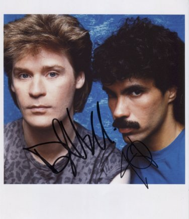 Daryl Hall & John Oates SIGNED Photo + Certificate Of Authentication 100% Genuine