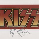 Ace Frehley Kiss (Band) SIGNED Photo + Certificate Of Authentication 100% Genuine