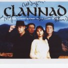 Clannad Moya Brennan + 3 FULLY SIGNED Photo + Certificate Of Authentication  100% Genuine