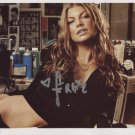 Fergie Black Eyed Peas SIGNED Photo + Certificate Of Authentication 100% Genuine