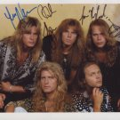 Europe (Band) Joey Tempest FULLY SIGNED  Photo + COA 100% Genuine