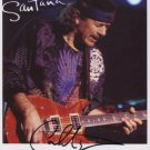 "Carlos Santana SIGNED 8"" x 10"" Photo + Certificate Of Authentication  100% Genuine"