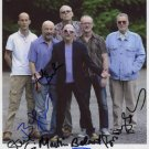 Graham Parker & The Rumour FULLY SIGNED Photo + Certificate Of Authentication 100% Genuine