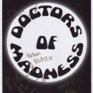 Doctors Of Madness (Band) SIGNED Photo + Certificate Of Authentication 100% Genuine