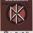 "Dead Kennedys Jello Biafra FULLY SIGNED 8"" x 10"" Photo + COA 100% Genuine"