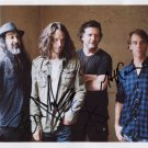 Soundgarden Chris Cornell FULLY SIGNED  Photo + Certificate Of Authentication 100% Genuine