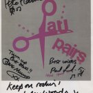 The Au Pairs (Band) Lesley Woods SIGNED Photo + Certificate Of Authentication 100% Genuine