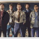 Kaiser Chiefs (Band) FULLY SIGNED  Photo + Certificate Of Authentication  100% Genuine