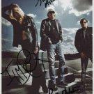 "Iggy Pop The Stooges Ron & Scott Ashton SIGNED 8"" x 10"" Photo COA 100% Genuine"