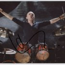 Lars Ulrich Metallica SIGNED 8 x 10 Photo + Certificate Of Authentication  100% Genuine