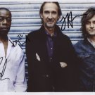 Mike Rutherford & Mechanics SIGNED Photo + Certificate Of Authentication 100% Genuine